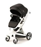 Milkbe Lullaby Self-Stopping Stroller Black