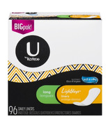 U by Kotex Lightdays Liners Long