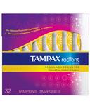 Tampax Radiant Plastic Tampons