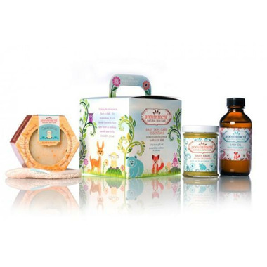 Anointment Natural Baby Skin Care Essentials Gift Set