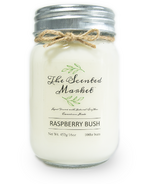 The Scented Market Soy Wax Candle Raspberry Bush