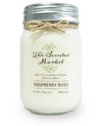 The Scented Market Bougie de Cire de Soya Raspberry Bush