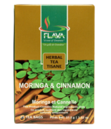 FLAVA Moringa & Cinnamon Herbal Tea