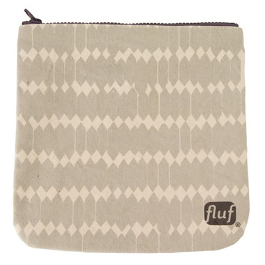 Fluf Arrowhead Zip Pouch