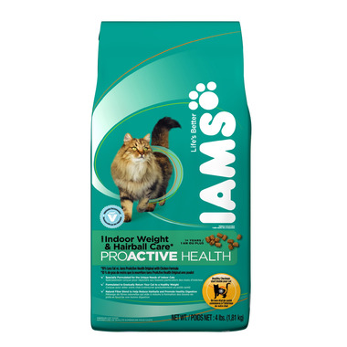 Iams Cat ProActive Health Adult Indoor Weight & Hairball Care