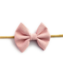 Baby Wisp Headband Fanny Bow Powder Pink