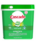 Cascade ActionPacs Dishwasher Detergent Fresh Scent