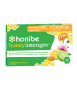 Honibe Honey Lozenges Immune Boost with Echinacea Zinc & Vitamin C