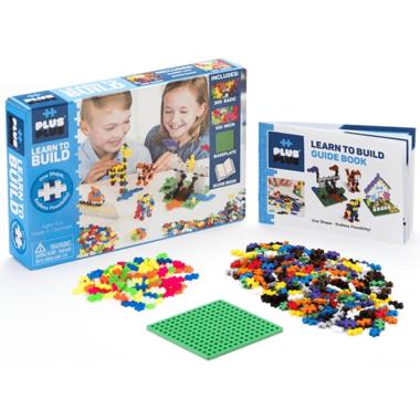 Plus Plus Learn to Build Set Basic Colours