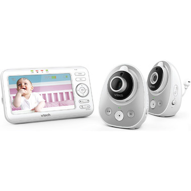 VTech Digital Video Baby Monitor with Wide-Angle Lens 2 Cameras