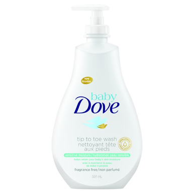 Baby Dove Tip to Toe Wash Sensitive Moisture