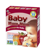 Hot-Kid Baby Mum-Mum Apple & Pumpkin Rice Rusks