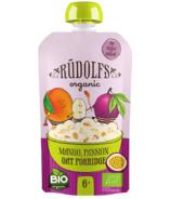 Rudolfs Organic Mango Passion Oat Porridge