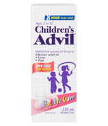 Children's Advil Suspension Dye-Free Bubble Gum