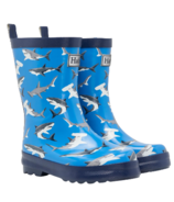 Hatley Deep-Sea Sharks Shiny Rain Boots