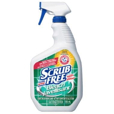Scrub Free Mildew Bleach Stain Remover