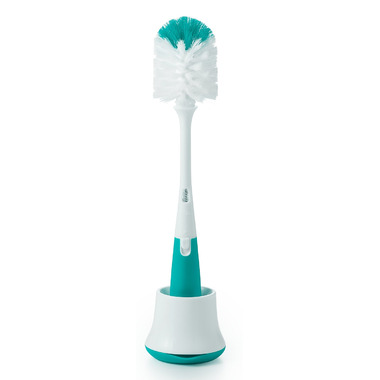 OXO Tot Bottle Brush Cleaner with Stand Teal