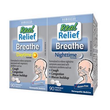 Homeocan Breathe Daytime / Nighttime