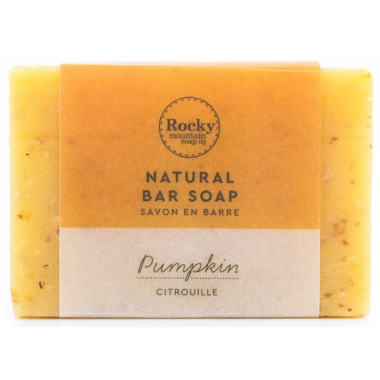 Rocky Mountain Soap Co. Pumpkin Bar Soap