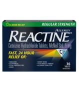 Reactine Regular Strength Reactine 36 Tablets