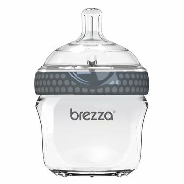 Baby Brezza Small Glass Bottle Grey