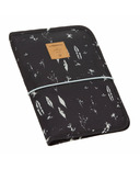 Lassig Changing Pouch Feathers Black