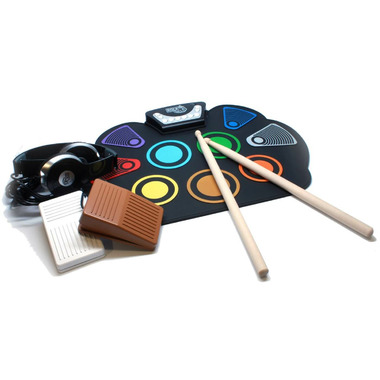 Mukikim Rock And Roll It SpecDrum Flexible Roll Up Drum Kit