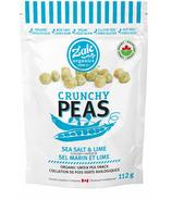 Zak Organics Crunchy Peas Sel de mer et citron vert