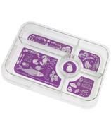 Yumbox Tapas Tray Purple Bon Appetite