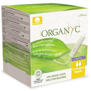 Organ(y)c Regular Organic Cotton Compact Applicator Tampons