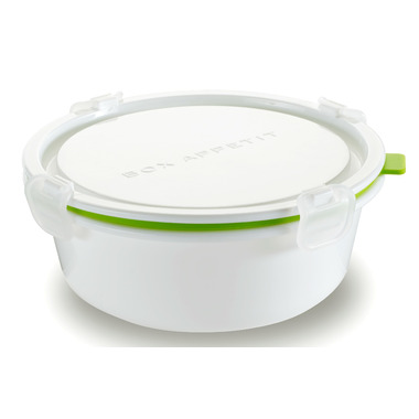 Box Appetit Lunch Box Round Large Lime