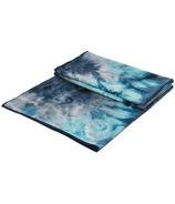 Manduka eQua Mat Towel Storm Hand Dye