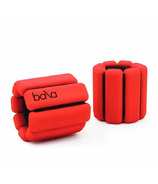 Bala Bangles Classic 1Lb Ankle/Wrist Weights Red Cherry