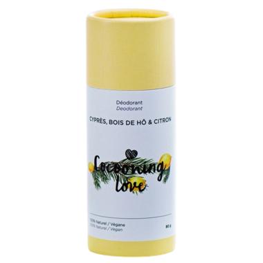 Cocooning Love Vegan Deodorant Cypress, Wood of ho & Lemon