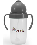Zoli BOT 2.0 Straw Sippy Cup Grey