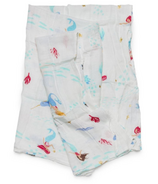 Loulou Lollipop Luxe Muslin Swaddle Blanket Mermaid