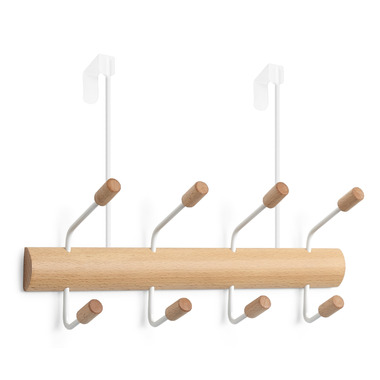 Umbra Pogo Over the Door Wall Hook White & Natural
