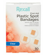Rexall Clear Spots Round Bandages 50'S