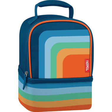 Thermos Dual Compartment Lunch Box Cool Retro