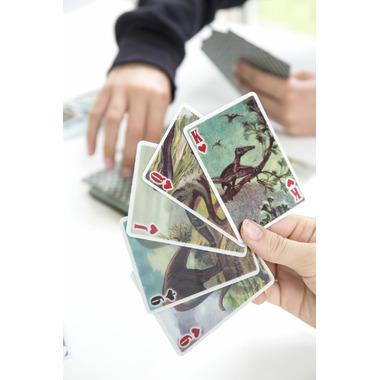 Kikkerland 3-D Dinosaur Playing Cards