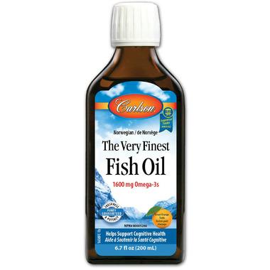 Carlson The Very Finest Fish Oil Orange Small