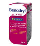 Benadryl Allergy Liquid Elixir