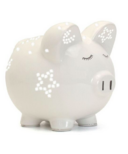 Child To Cherish White Night Light Pig