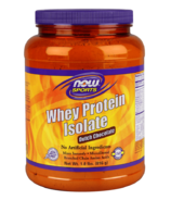 NOW Sports Whey Protein Isolate Powder Dutch Chocolate