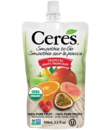 Ceres Organic Smoothie To Go Tropical