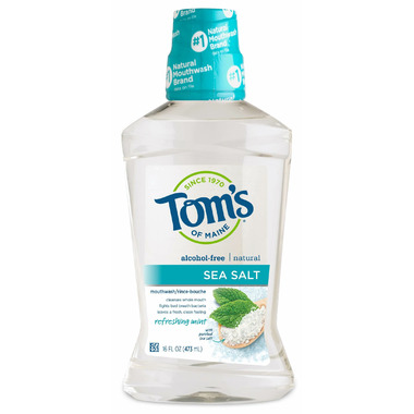 Tom\'s Of Maine Refreshing Mint Sea Salt Mouthwash