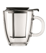 Bodum YO-YO SET Mug and Tea Strainer Black