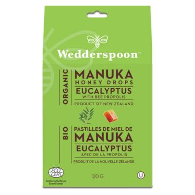 Wedderspoon Organic Organic Manuka Honey Drops