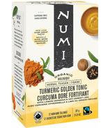 Numi Organic Tisane Curcuma Doré Fortifiant