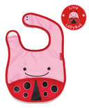 Skip Hop Zoo Bibs Tuck-Away Bib Lady Bug Design